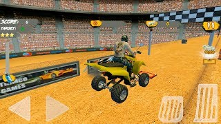 ATV Motocross Quad Trail Galaxy - Gameplay Android game - motocross racing games