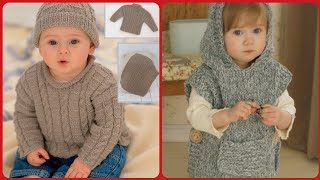 Top Stunning Beautiful Baby Hand Made Crochet Knitting Caps And Sweater Designs