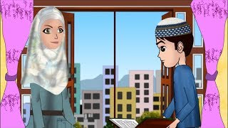 Abdul Bari learning surah Nas Urdu Islamic Cartoons for children