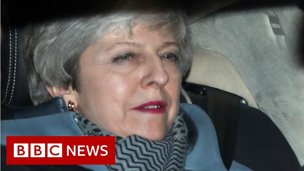 Brexit: Theresa May vows to quit if deal is passed – BBC News