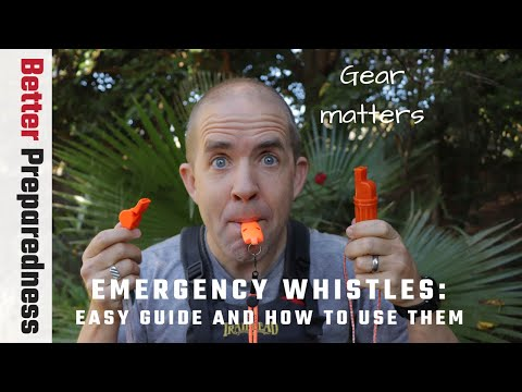 Your Easy Guide to Emergency Survival Whistles and How to Use Them