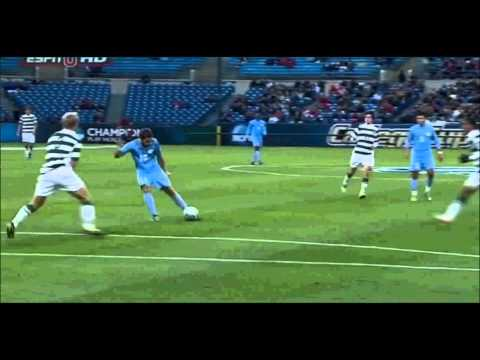 Ben Speas Game Winning Goal - 2011 NCAA Soccer Final UNC vs. Charlotte