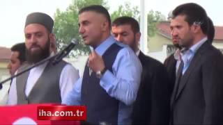 Sedat Peker'e 'Hizmet Nişanı' Verildi VİDEO İZLE