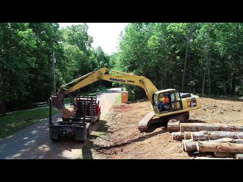 LTS Construction of Huntland TN land clearing project 12