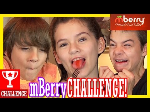 THE mBERRY CHALLENGE!!  |  KITTIESMAMA