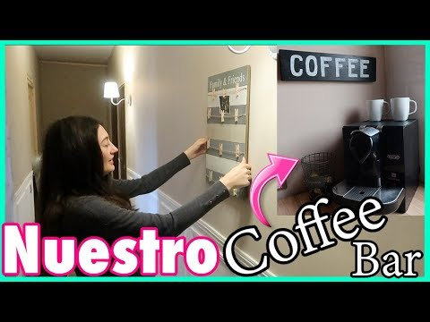 IDEAS para el PASILLO + Nuestro COFFEE Bar | VLOGS DIARIOS