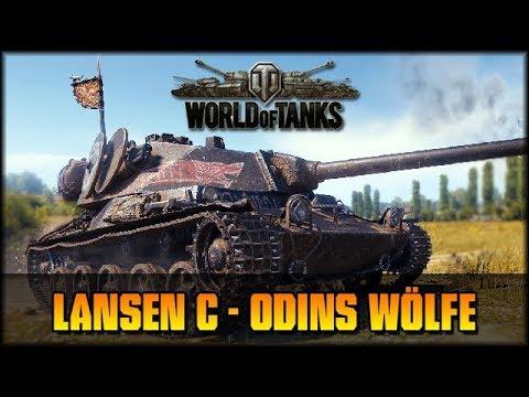 Lansen C - Odins Wölfe - World of Tanks [deutsch 🐄 gameplay] thumbnail