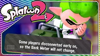 Splatoon 2 until someone disconnects