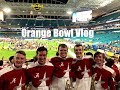 Million Dollar Band Orange Bowl Vlog