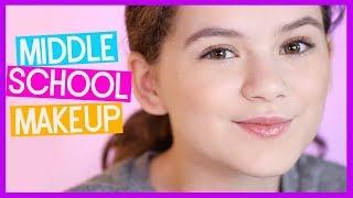📚💋 Middle School Makeup Tutorial: BACK TO SCHOOL!  💄📔