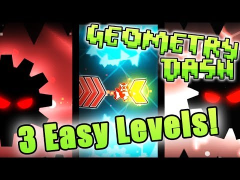 Geometry Dash | 3 Easy Levels JOSE Edition [Gear, Gear 2, Pae Ki]
