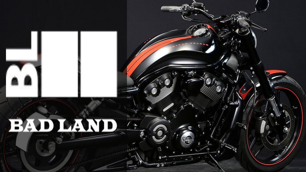 Harley Davidson V Rod Cobra Bound by Bad Land | Motorcycle Muscle Custom
