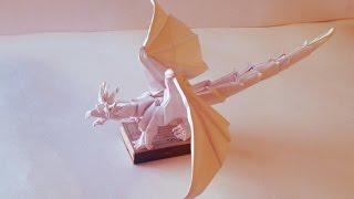 Древний дракон - обзорное видео (Ancient Dragon Origami)