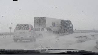 Суровая зима в Казахстане 25.01.2017 часть 2