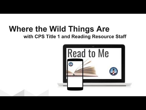 Read to Me  - Where the Wild Things Are with Coeburn Primary Title 1 and Reading Resource Staff