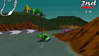 Big Red Racing (PC DOS) 60FPS longplay