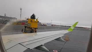 Полет Ноябрьск-Новосибирск Embraer 170 авиакомпания S7