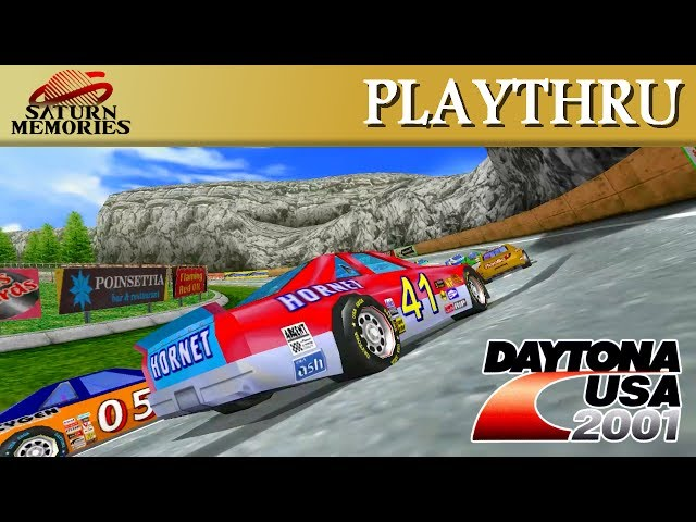 Daytona USA 2001 [Dreamcast] by SEGA [HD] [1080p60]