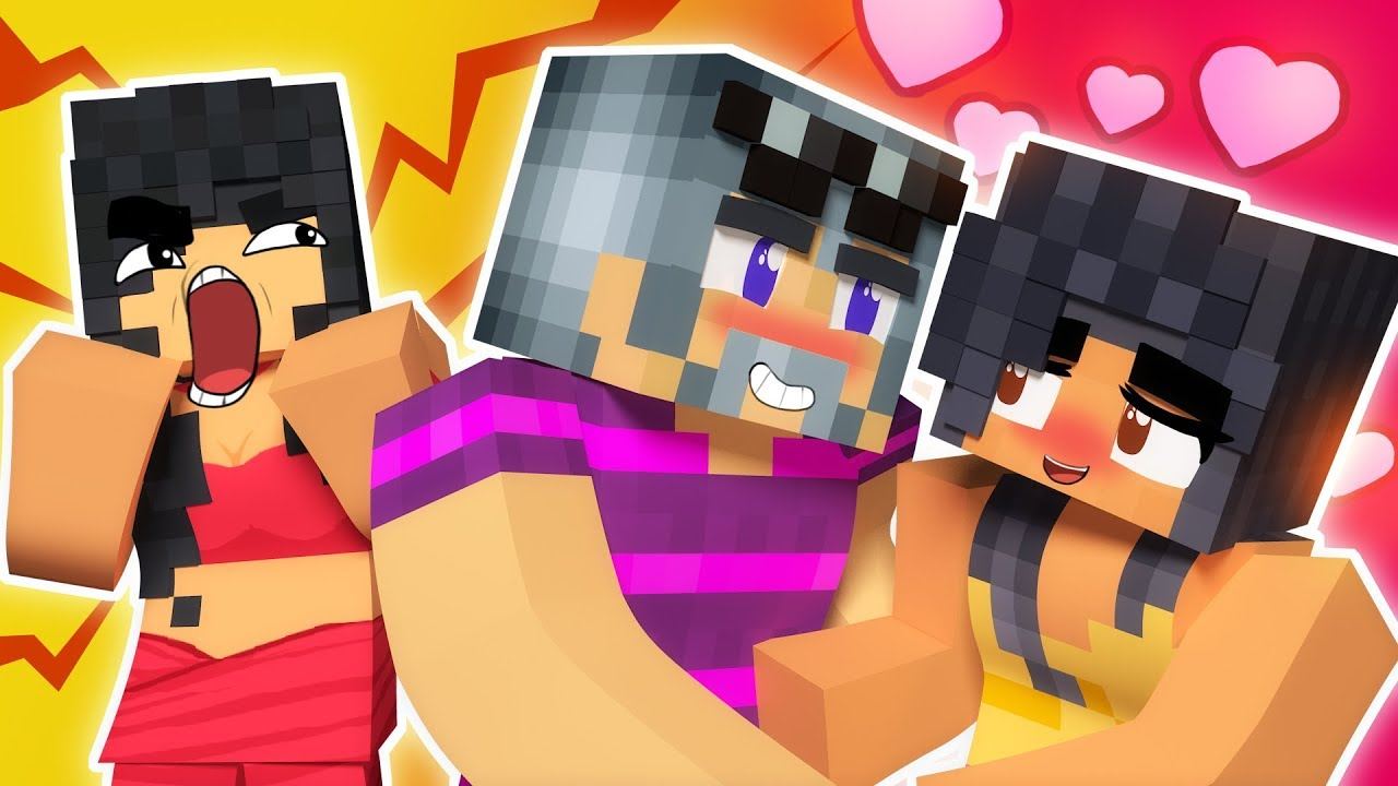 Making Out With Aphmau's Mom | Minecraft Hide and Seek