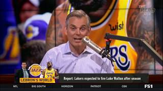 The Herd 3/5/2019 | Colin Cowherd BREAKING: Lakers expected to fire Luke Walton after season