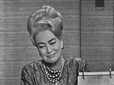 What's My Line? - Joan Crawford; Victor Borge [panel] (Dec 13, 1964)