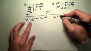 Thermo Lesson 6: First Law for a Control Mass