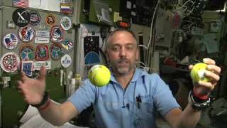 Richard Garriott Space Video Blog: Conservation of Momentum