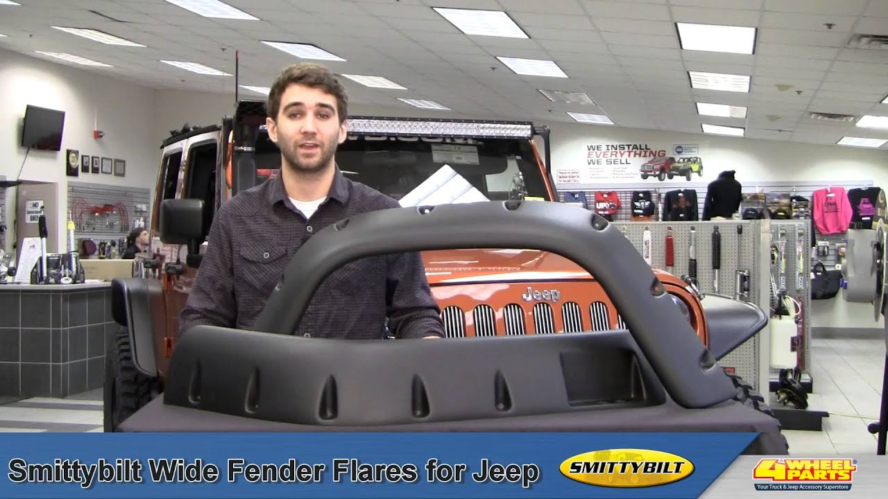 Smittybilt Wide Fender Flares For Jeep Youtube Bushwackercom 4945 Bushwackerbuilds Jeepwranglerfrontenddiagram