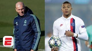 Zinedine Zidane's comments on Kylian Mbappe are borderline tampering - Ale Moreno | ESPN FC