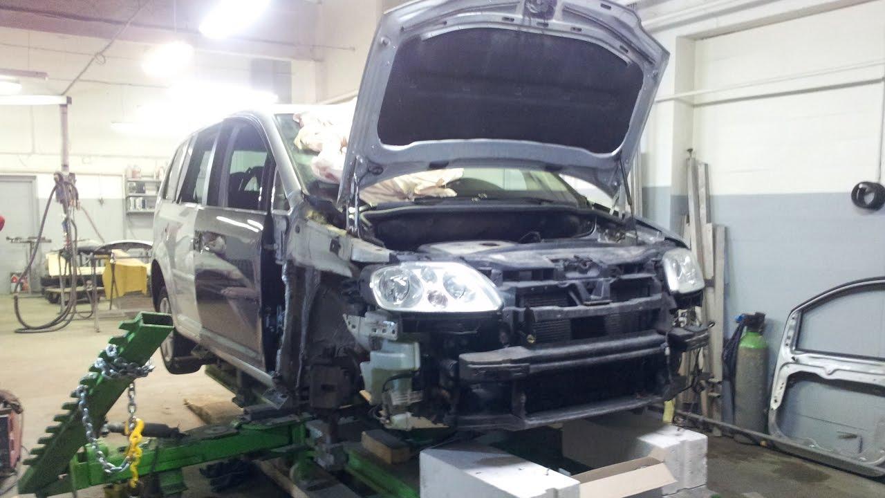 Volkswagen Touran Collision Repair YouTube - Volkswagen collision repair