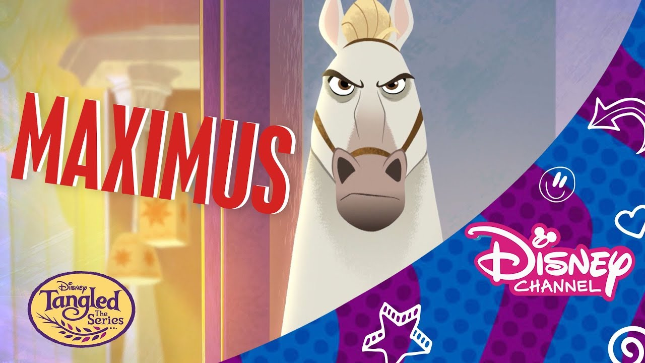 Maximus Tangled The Series Official Disney Channel Africa