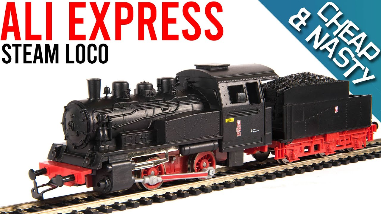 Cheap & Nasty AliExpress Model Train | Unboxing & Review