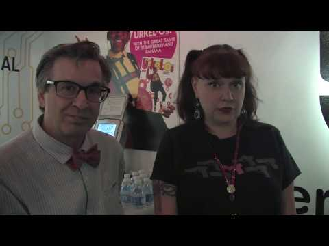 SDCC  with King of the Nerds stars Robert Carradine & Curtis Armstrong