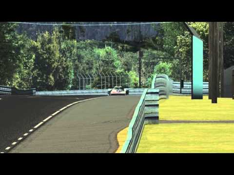 GTR2 - Tentative lap in the R8C