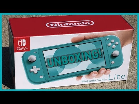 should-you-buy-the-new-nintendo-switch-lite?-unboxing-&-review!-size-&-weight-comparison!
