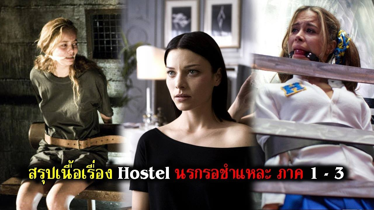 สรุปเนื้อเรื่อง Hostel นรกรอชำแหละ  ภาค 1-3 ทั้งหมดแบบละเอียด (สปอยหนัง)