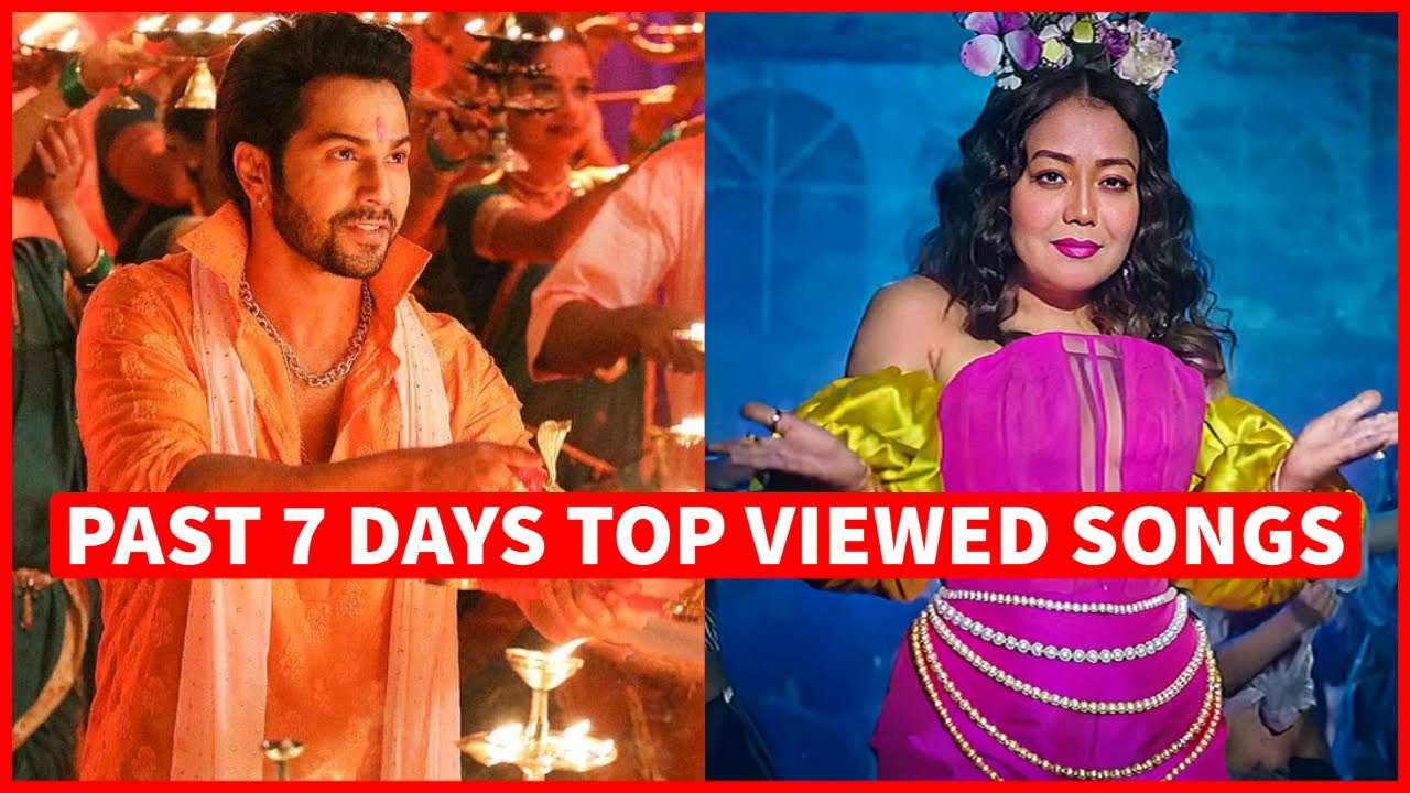 Past 7 Days Most Viewed Indian Songs on Youtube [13 September 2021]