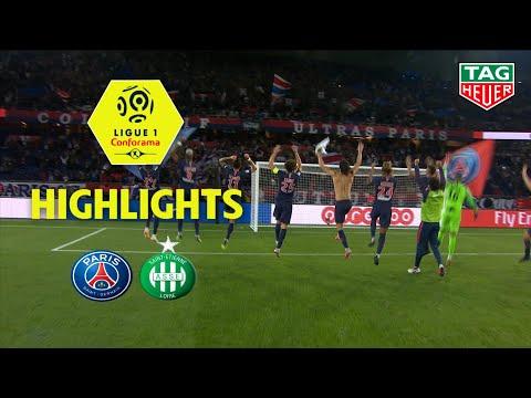 Paris Saint-Germain - AS Saint-Etienne ( 4-0 ) - Highlights - (PARIS - ASSE) / 2018-19