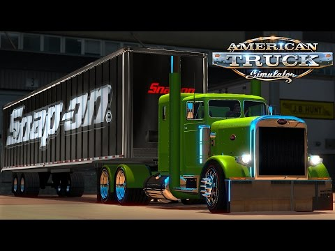 American Truck Simulator: The Green Snap-On Beauty Queen