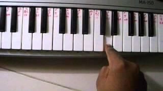 SHIRDI WALE SAI BABA SONG TUTORIAL ON PIANO