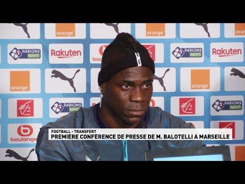Conférence de presse Mario Balotelli