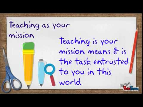 teaching is like vocation