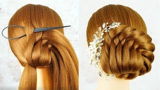 Easy Hairstyle For Beginners Step By Step - Hairstyles Tricks and Hacks | Hairstyles Wedding
