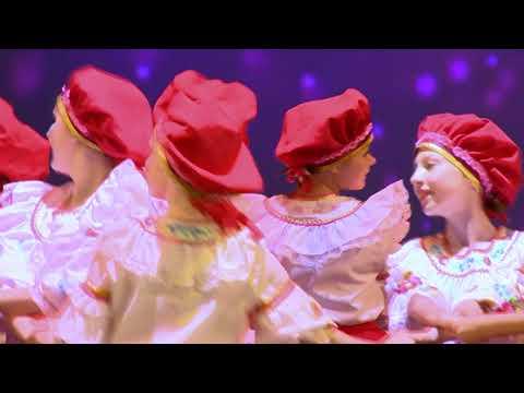Отчетный концерт детской хореографической студии «ЮЛА» 19 мая 2018г. Номер «Русские потешки»