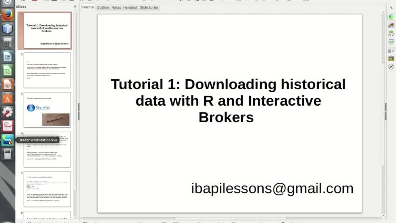 Request historical data interactive brokers  » giopinkterdi cf