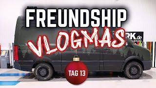 FREUNDSHIP Vlogmas Tag 13 // Der Crafter Campervan bekommt sein finales Design
