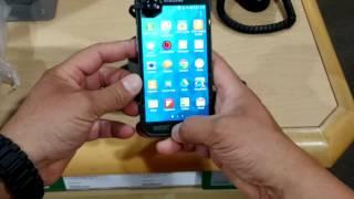 New Samsung Galaxy S5 ACTIVE Military Camo quick look