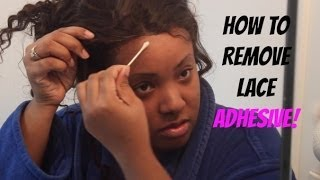 How To Safely Remove A Glued Lace Frontal