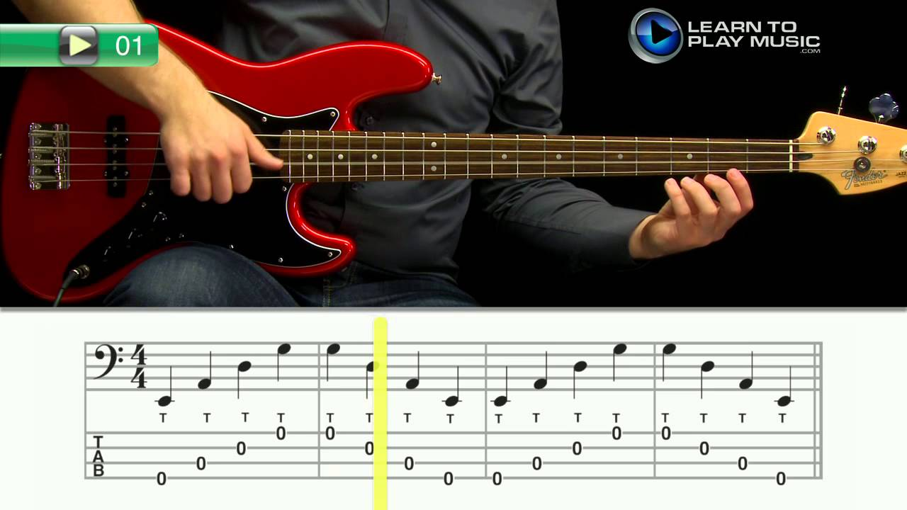 ex001 how to play bass guitar slap bass guitar lessons for beginners youtube. Black Bedroom Furniture Sets. Home Design Ideas