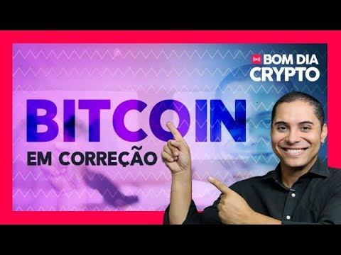 BITCOIN EM CORREÇÃO + BNB(MOEDA BINANCE) OPORTUNIDADE -  BOM DIA CRYPTO - AN�LISE AO VIVO 06/08/18
